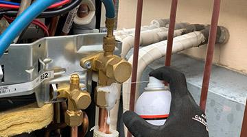 冷媒配管耐圧検査